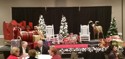 Breakfast with Santa Stage