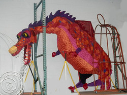 Dragon 10ft long