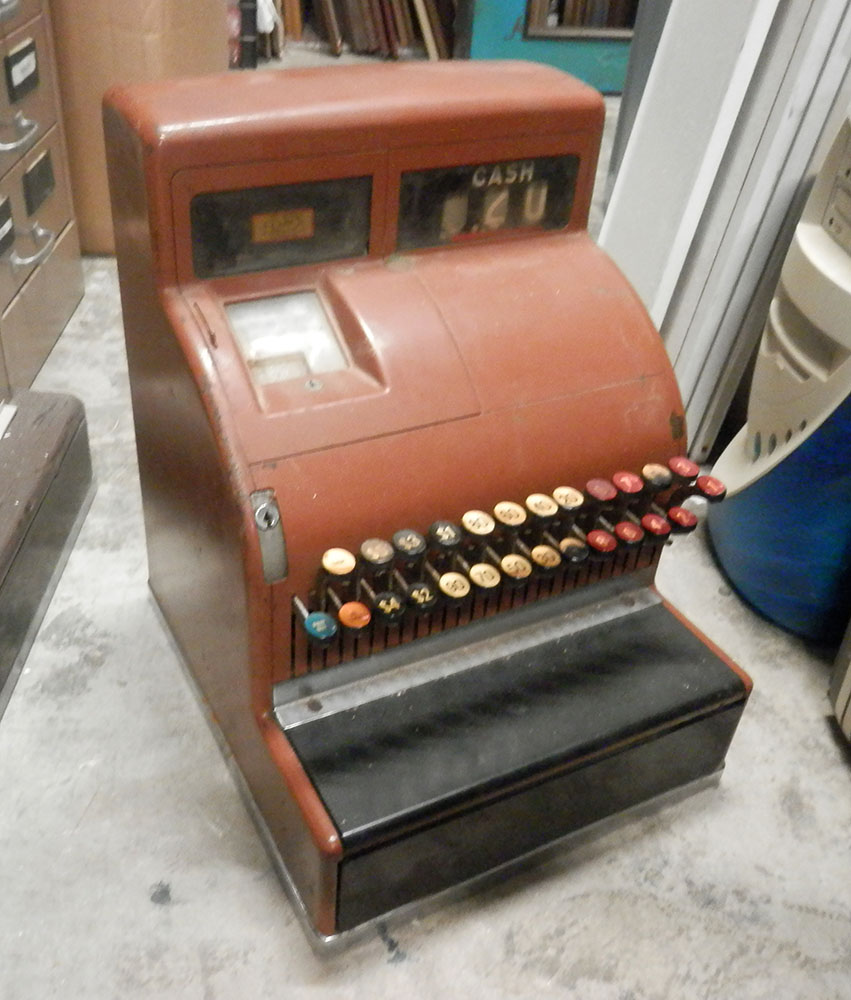 Mechanical Cash Register