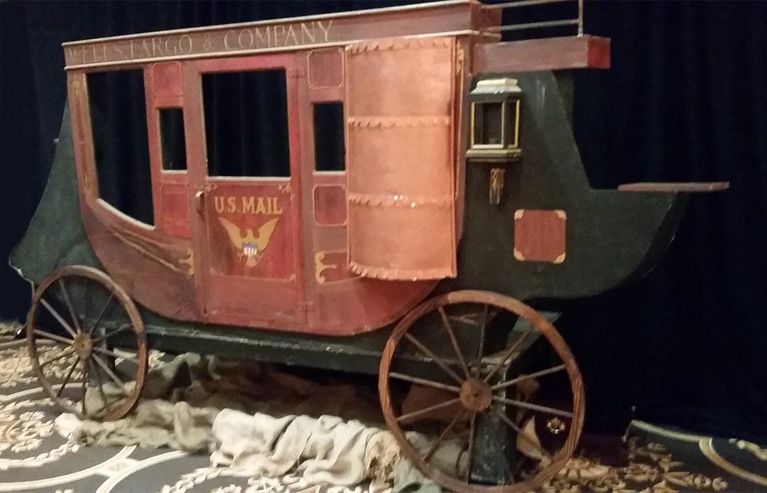 Stagecoach Facade