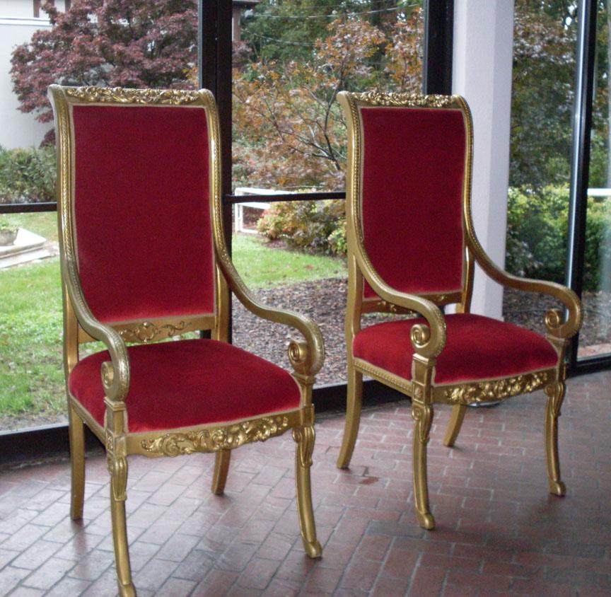 XL Regal Santa Throne