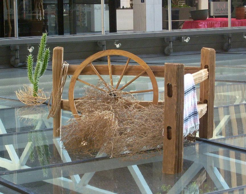 Western Fence Corner vignette