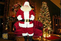 Santa Love Seat