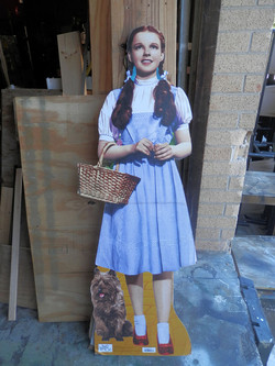 Dorothy and Toto Stand Up