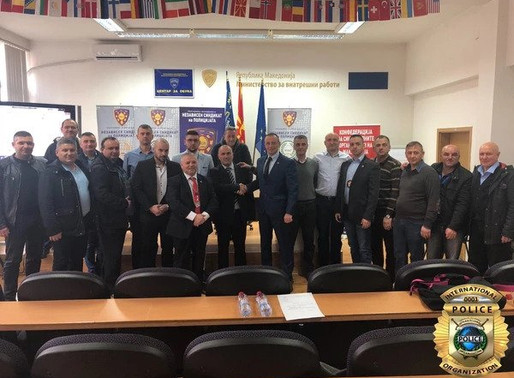 Cooperation with the Independent Police Union of Macedonia