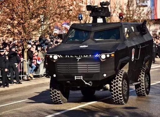 Military vehicle from Republika Srpska
