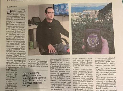 IPO Member Alessio Romeo in Italian news