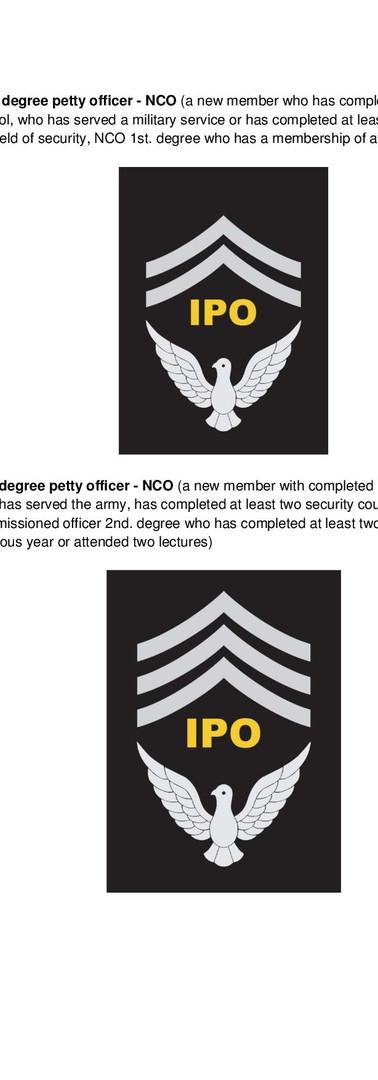 Petty Officer L2 / L3