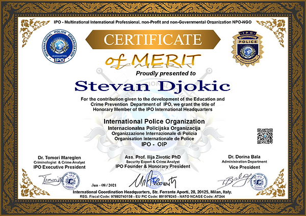 IPO Honorary HQ-H 009 Stevan Djokic.png