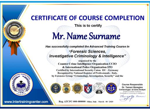 Become Criminal Forensics Expert
