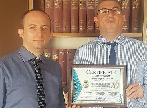 Partnership with Martinelli Law Bureau Milan