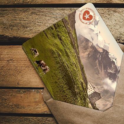 Les cartes postales du bon Valaisan