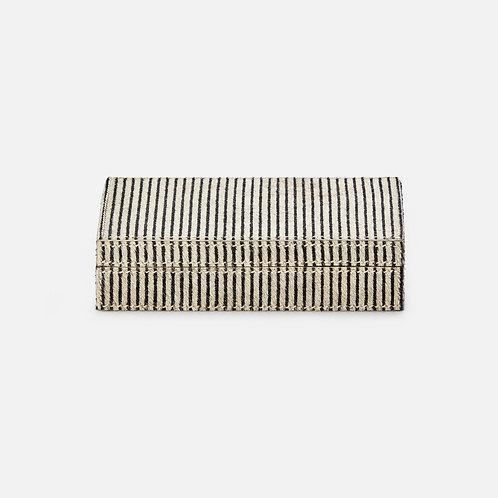Striped Hide Card Box