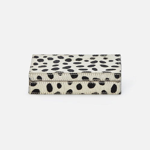 Dalmatian Hide Card Box