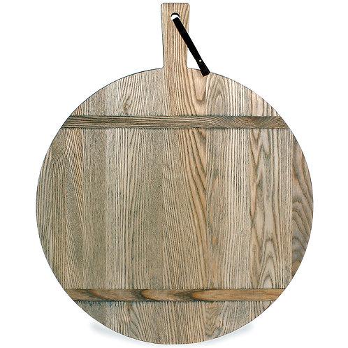 Large Ash Round Serve Board