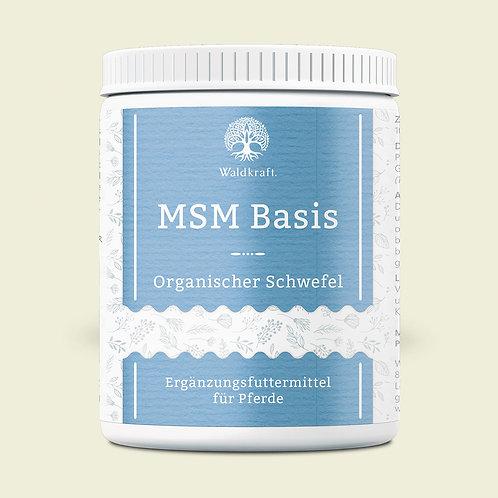 MSM Basis für Pferde – Organischer Schwefel
