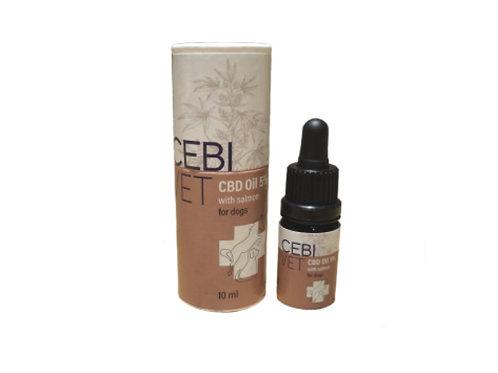 Cebivet 5% Hanfextrakt mit Lachsöl für den Hund