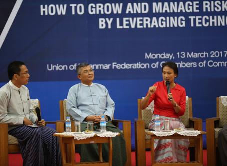 ThitsaWorks Hosts Fintech Workshop for Myanmar