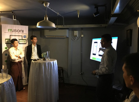 "Musoni & ThitsaWorks host ""Future of Technology in Microfinance"" dinner in Yangon"