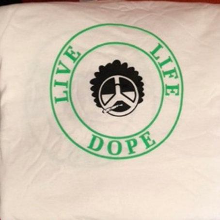 Logo Tee White/Green