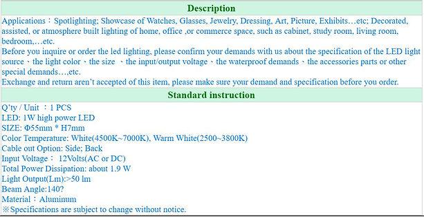 Thin LED Spotlight-12V1W-1.JPG