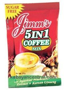 Jimm�s 5 in 1 Coffee Sugarfree (21g x 20 sachets)