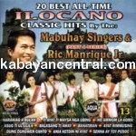 20 Best All-Time Ilocano Classic Hit Vol.13 - Ric Manrique Jr & Mabuhay Singers