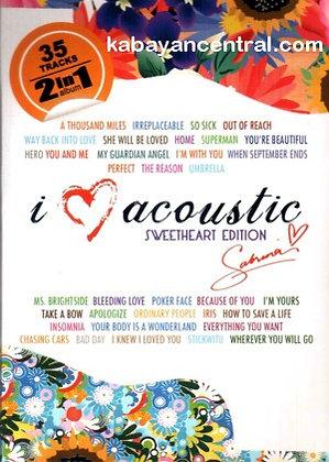 I Love Acoustic Sweetheart Edition (2-CD) - Sabrina