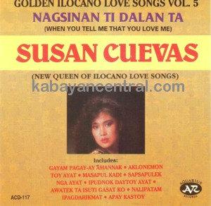 Golden Ilocano Love Songs Vol.5 - Susan Cuevas