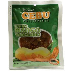 Dried Mango Tamarind (100g) Cebu Brand