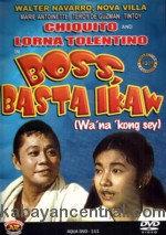 Boss, Basta Ikaw (Wa' na Kong Sey) DVD