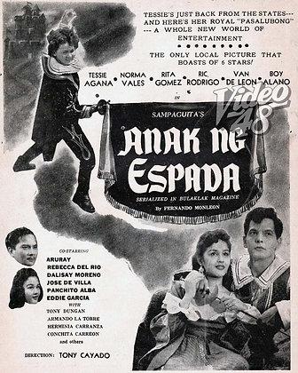 Anak ng Espada (1954) DVD