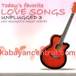 Today's Favorite Love Songs Unplugged 3 CD - Various Artists