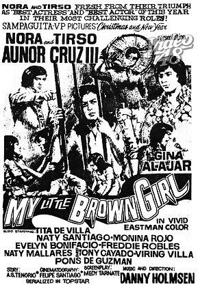 My Little Brown Girl (1972) DVD