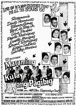 Maraming Kulay ang Pag-Ibig (1966) DVD