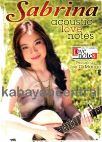 Acoustic Love Notes - Sabrina