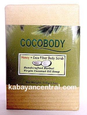 Cocobody Honey+Coco Fiber Body Scrub Bar (2x150g)
