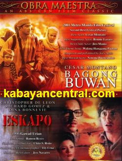 Bagong Buwan / Eskapo 2-in-1 DVD