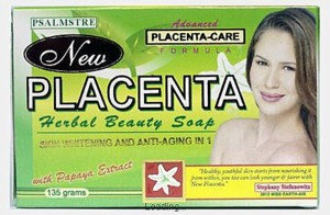 New Placenta Classic with Papaya Extract Soap (2 x 135g)