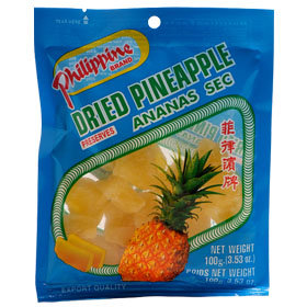 Philippine Brand Dried Pineapple (100g)
