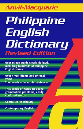 Anvil Macquarie Dictionary Philippine English Dictionary