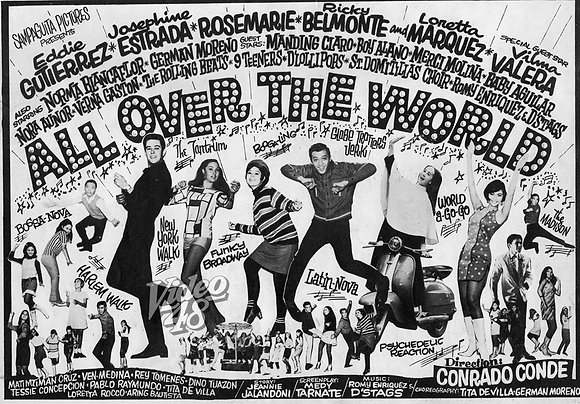 All Over The World (1967) DVD