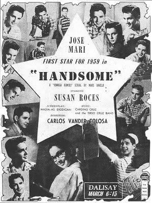 Handsome (1959) DVD