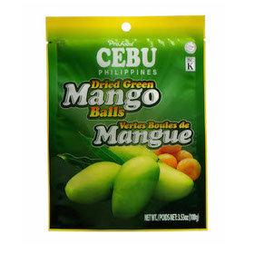 Dried Green Mango Balls (100g) Cebu Brand