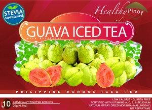 Healthy Pinoy Guava Iced Tea (20g x 10 sachets)