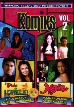 Komiks Vol.2 ( Piolo At Si Lorelei/Momay) DVD