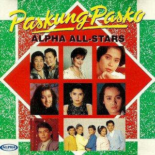 Paskung-Pasko CD - Alpha All Stars