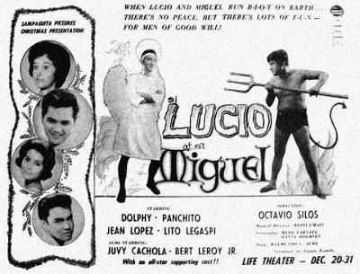 Si Lucio at si Miguel (1962) DVD