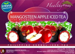 Healthy Pinoy Mangosteen-Apple Iced Tea (20g x 10 sachets)