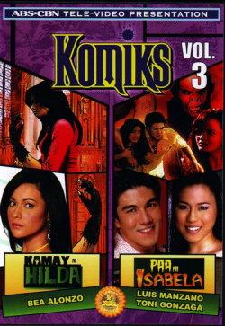 Komiks Vol.3 ( Kamay Ni Hilda/Paa Ni Isabela) DVD